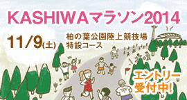 KASHIWAマラソン2014