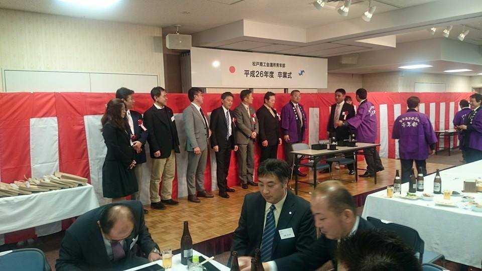 松戸卒業式7